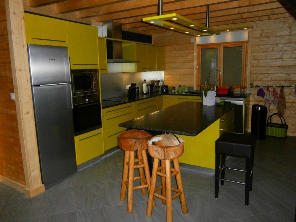 Cuisines laques menuiserie agencement gerard for Fabricant de cuisine
